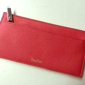 NWT Coral Neiman Marcus Clutch